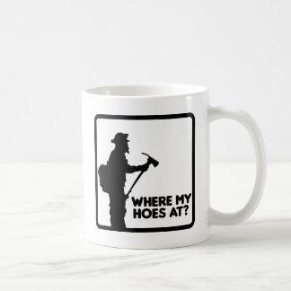 の私のくわ一方、 コーヒーマグカップ