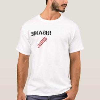 の粉砕公認! Tシャツ
