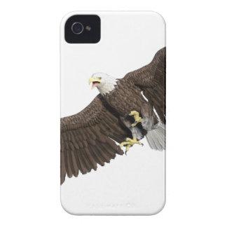 の翼を持つ白頭鷲はなでます Case-Mate iPhone 4 ケース