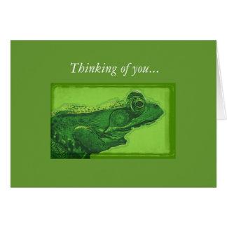の考えること… カード