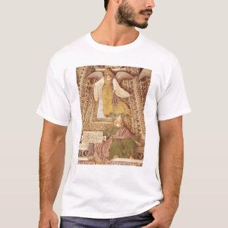 の聖餐杯を保持するEzekielおよび天使 Tシャツ
