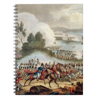 の行為のイギリス陸軍の左の翼 ノートブック