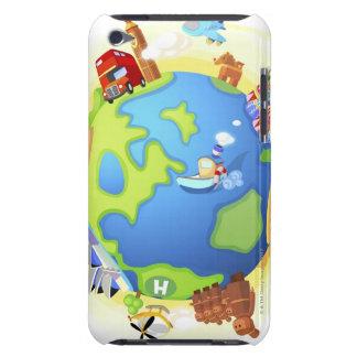 の飛行機の走行のさまざまで有名な場所 Case-Mate iPod TOUCH ケース