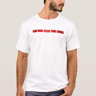 ~の`それは絶対必要の`の~です Tシャツ