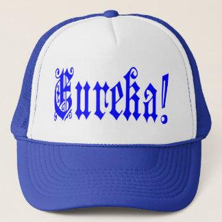 😜💡のEurekaおもしろいでクールな引用文のトラック運転手の帽子 キャップ