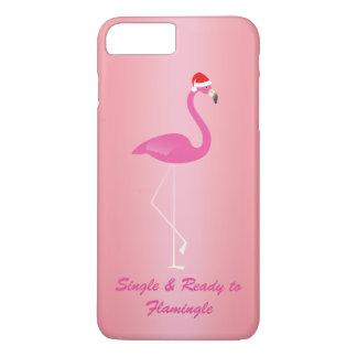 のFlamingleのクリスマスのiPhone 7に独身の及び準備ができた上がりました iPhone 8 Plus/7 Plusケース