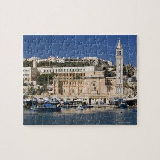 のMarsaskalaの港そして教会 ジグソーパズル