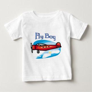 はえの男の子 ベビーTシャツ