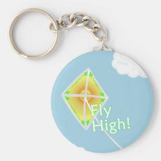 はえの高い凧のキーホルダー キーホルダー