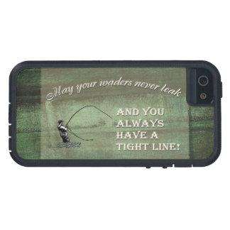 はえの魚釣りの願い: あなたのwadersは決して漏るように… iPhone SE/5/5s ケース
