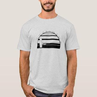 はえの魚釣りのTシャツ Tシャツ