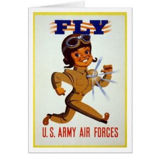 はえ-米国陸軍の空軍 カード