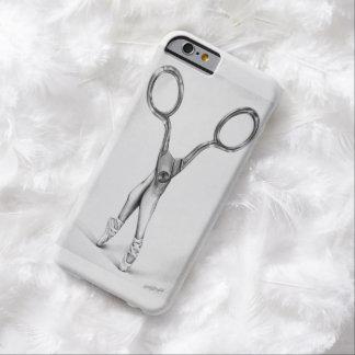 はさみのバレリーナのダンスの超現実的な芸術のiPhone6ケース Barely There iPhone 6 ケース