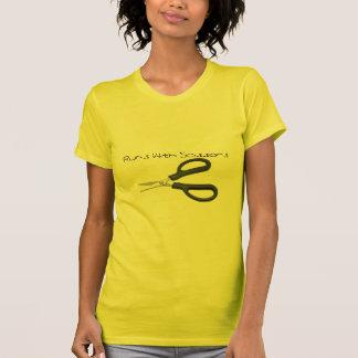 はさみ、はさみとの操業 Tシャツ