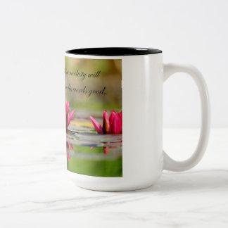 はすの花との孔子の引用文 ツートーンマグカップ