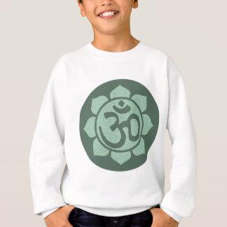 はすの花のオーム スウェットシャツ