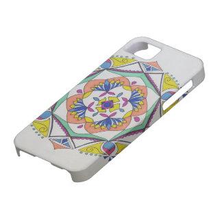 はすの花の曼荼羅の電話箱 iPhone SE/5/5s ケース