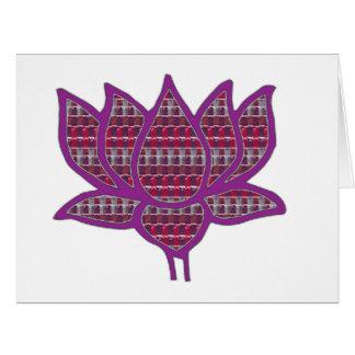 はすの花の純粋で精神的な記号のモモNVN661 カード