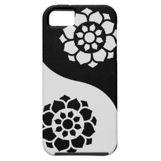 はすの花の陰陽 iPhone SE/5/5s ケース