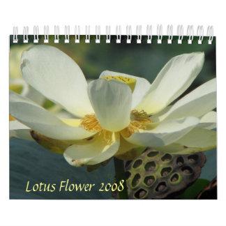 はすの花2008年 カレンダー