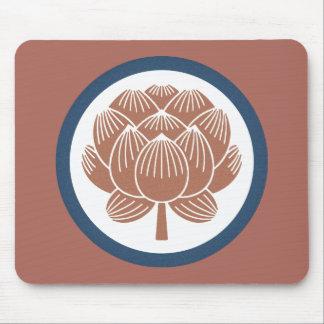 はすの花Kamon マウスパッド
