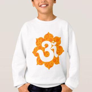 はすオレンジのヨガOm スウェットシャツ