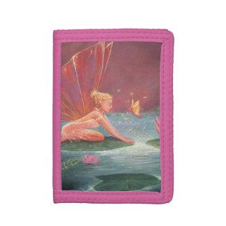 はす池の妖精 ナイロン三つ折りウォレット