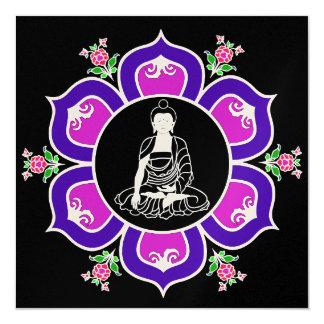 はす王位の曼荼羅のShakyamuni仏 カード