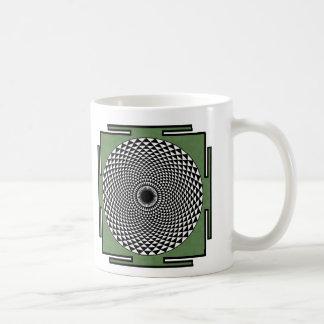 はす黙想のdharmaの車輪 コーヒーマグカップ