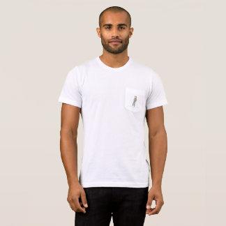 """はす""""ミヤマガラス""""のDunbarの美しいポケットt Tシャツ"""
