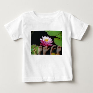はす + 平和ASL ベビーTシャツ