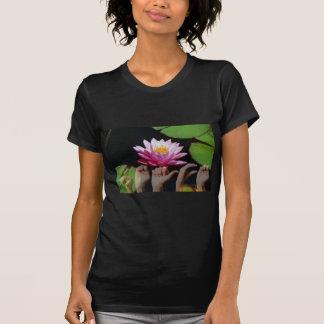 はす + 平和ASL Tシャツ