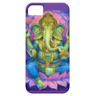 はすGaneshaのiPhone 5の場合の幸運なヒンズー教象 iPhone SE/5/5s ケース