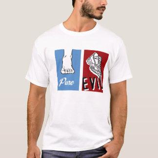 はだしで純粋な悪 Tシャツ