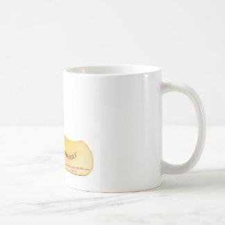はだしのプルメリアのロゴ コーヒーマグカップ