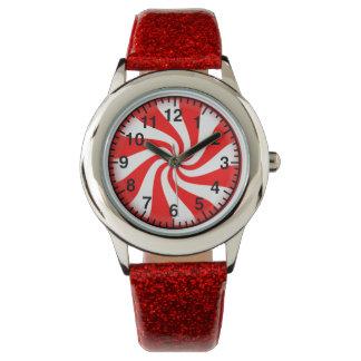 はっか菓子の腕時計 腕時計