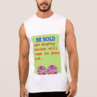 はっきりしたで強大な力の援助があって下さい 袖なしシャツ