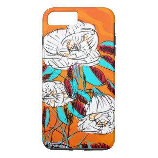 はっきりしたで、カラフルな、花のphonecase iPhone 8 plus/7 plusケース