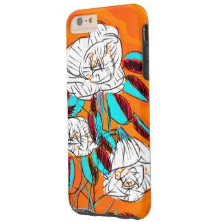 はっきりしたで、カラフルな、花のphonecase tough iPhone 6 plus ケース