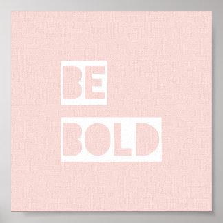 はっきりしたなピンクの感動的な引用文の手頃なギフトがあって下さい ポスター