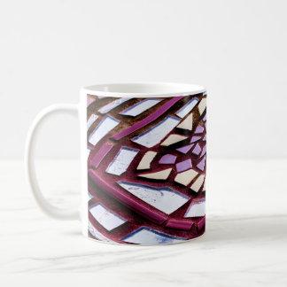 はっきりしたなモザイク円のマグ コーヒーマグカップ