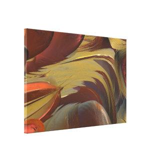 はっきりしたな抽象芸術MANDELBULB 3D。 フラクタルIMG キャンバスプリント