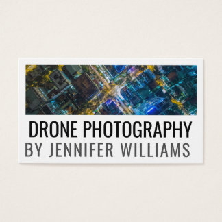 はっきりしたな空気の無人機の写真撮影 名刺