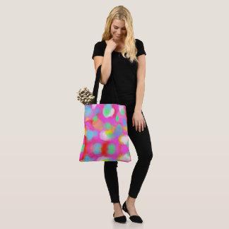 はっきりしたな色、素晴らしいグラフィック・デザイン トートバッグ
