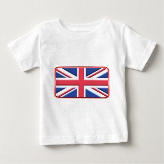 はっきりしたな英国国旗 ベビーTシャツ