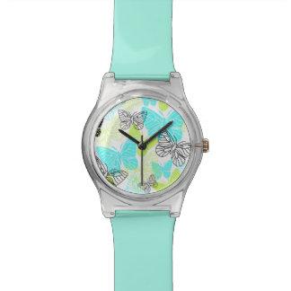 はっきりしたな蝶 腕時計