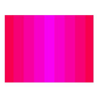 はっきりしたな赤いピンクの赤く幸せなデザインのおもしろいのかわいらしいスペクトル ポストカード