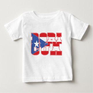 はっきりしたなBoricua ベビーTシャツ
