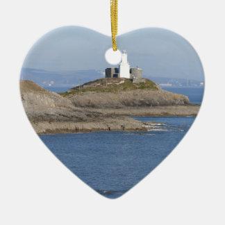 はっきりしない言葉の灯台、はっきりしない言葉 セラミックオーナメント