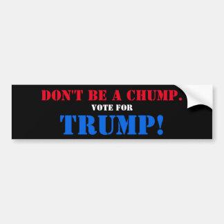 ばかがあないで下さい。 切札のために投票して下さい! バンパーステッカー